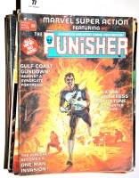 Lot 77 - Sundry comics magazines by Marvel and Curtis,...