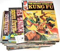 Lot 78 - Deadly Hands of Kung Fu comics magazine...