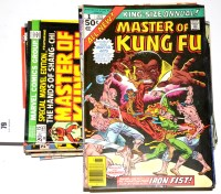 Lot 79 - Master of Kung Fu, No's. 15-49 inclusive, 106,...