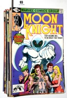 Lot 83 - Moon Knight (first series 1980 onwards), No's....