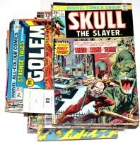 Lot 85 - Sundry Marvel titles, including Skull The...