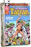 Lot 86 - Tarzan Lord of the Jungle (Marvel published...