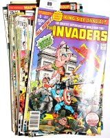 Lot 89 - The Invaders, sundry issues from No. 1 onwards;...