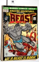 Lot 90 - Amazing Adventures featuring The Beast, No's....