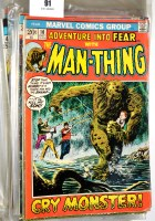 Lot 91 - The Man-Thing, No's 1-21; The Man-Thing,...