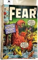 Lot 94 - Fear, No's. 1 (published 1970), 2, 3, 4, 6, 8,...