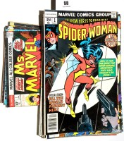 Lot 98 - The Spider-Woman, No's. 1-46; and Ms. Marvel,...