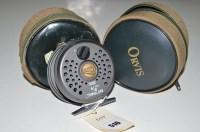 Lot 516-An Orvis Battenkill disc 8/9 fly fishing reel, in ...