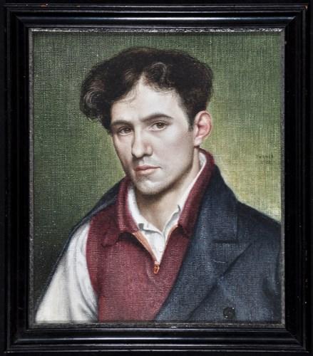 Lot 141-John Turner, RUA (1916-2006) A portrait of the...