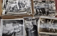 Lot 245-A large quantity of Movie Stills, film to...