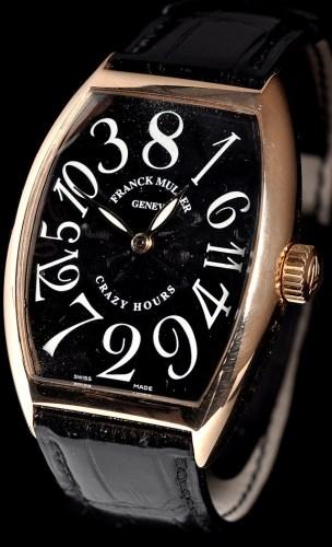 Lot 821-Franck Muller, Crazy Hours: a gentleman's 18ct....