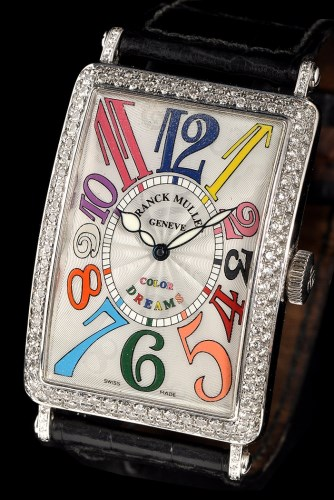 Lot 822-Franck Muller, Color Dreams: an 18ct. white gold...