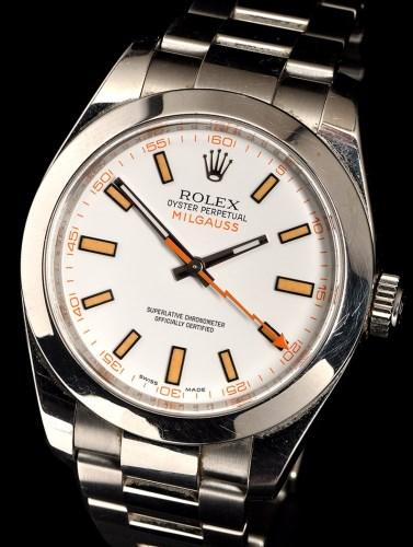 Lot 830-Rolex Oyster Perpetual Milgauss: a gentleman's...