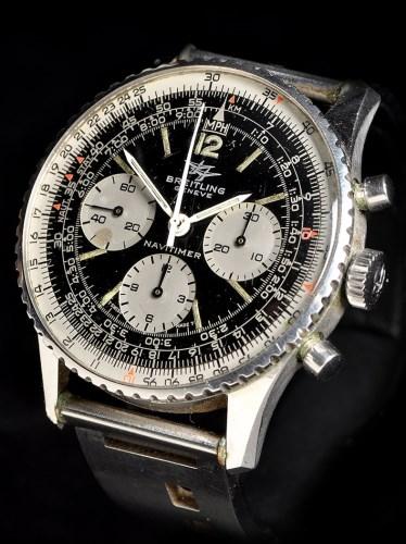 Lot 843-Breitling Navitimer: a gentleman's stainless...