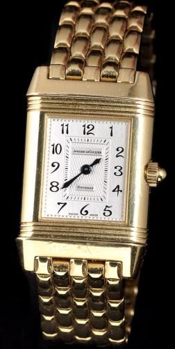 Lot 847-Jaeger LeCoultre Reverso: a lady's diamond set...