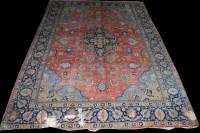Lot 1014 - A Tabriz carpet, with central medallion...