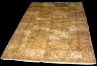 Lot 1016 - A modern Ziegler rug, on gold ground, 362 x...