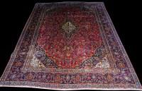 Lot 1026 - A Kashmar carpet, with central floral...