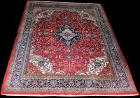 Lot 1035 - A Central Persian carpet, with central...