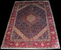 Lot 1037 - A Central Persian rug, of Shiraz type design,...