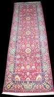 Lot 1045 - An Indian Moghul rug, of Persian design, 312 x...