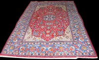 Lot 1050 - A Central Persian carpet, the central...