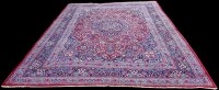 Lot 1061 - A Doroksh carpet, the central rosette...
