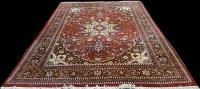 Lot 1071 - A Bidjar carpet, the central rosette medallion...
