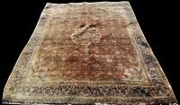 Lot 1087 - A Bidjar rug, the central medallion surrounded...