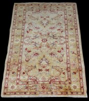 Lot 1088 - A Ziegler Mahal rug, with loose floral design,...