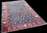 Lot 1098 - A Ziegler Mahal rug, with geometric floral...