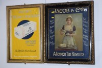 Lot 4 - 'Jacobs Cream Crackers' advertising card, in...