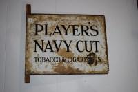 Lot 5 - 'Players Navy Cut Tobacco & Cigarettes' enamel...