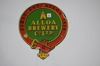 Lot 6 - 'Alloa Brewery Co. Ltd.', enamel advertising...
