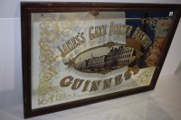 Lot 30 - A 'Guinness Jame's Porter Brewery' advertising...