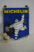 Lot 44-Michelin enamel advertising sign, by R.C....
