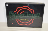 Lot 47 - An electronic advertising sign for 'Pilsner...