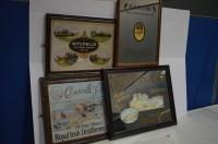 Lot 48 - 'H.B. Clark Brewery' advertising mirror;...