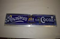 Lot 60-'Rowntree's Cocoa' enamel advertising sign, 64...