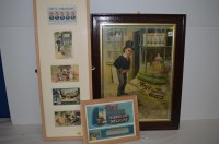 Lot 62 - 'Fry's chocolate' advertising cards, including,...