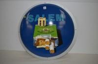 Lot 65 - 'Salem cigarette' enamel advertising sign, of...