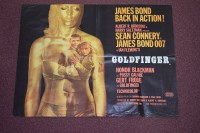 Lot 68 - 'James Bond Gold Finger' (1964) British Quad...