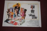Lot 69 - 'James Bond Live and Let Die' (1973) British...
