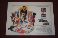 Lot 70 - 'James Bond Live and Let Die' (1973) British...