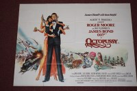 Lot 74 - 'James Bond Octopussy' (1983), printed by...
