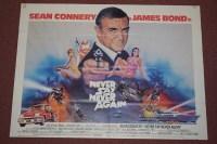 Lot 74A - 'James Bond Never Say Never again' (1983),...