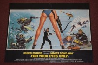 Lot 75 - 'James Bond For your Eyes Only' (1981) British...