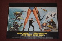 Lot 76 - 'James Bond For Your Eyes Only' (1981) British...