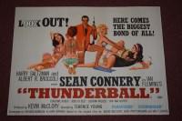 Lot 80 - 'James Bond Thunderball' (1965) British quad...