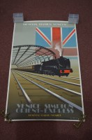 Lot 88 - An Art Deco style poster for Victoria Street...